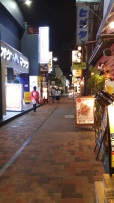 田町 Tamchi a beautiful oldish style neighborhood near the Tokyo tower