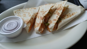 Quesadilla at Marco's Kitchen in Lotte World