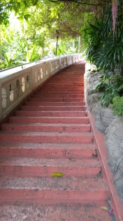 Almost all of the mount is a very easy climb or what felt more like a forward shuffle, just getting to the very top requires a bit of normal stairs