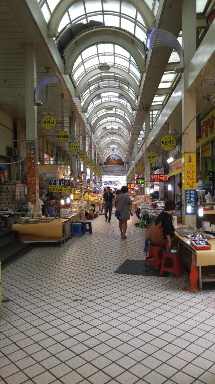 Sokcho Jungang Market 속초중앙시장