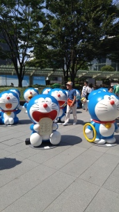 a ton of doraemon