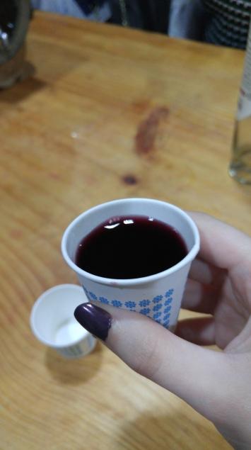 blueberry wine