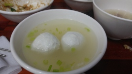 fishball soup (福州魚丸)