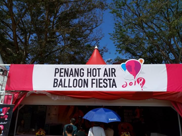 Penang Hot Air Balloon Fiesta and Chinese NewYear