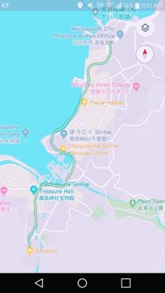ferry terminal to Daishoin
