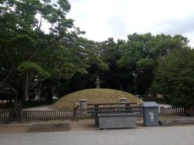 mound of mass graves