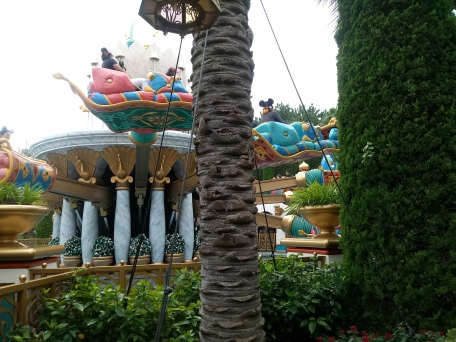 Picture of Jasmine's Flying Carpet ride in action