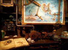 view of Captain Nemo's office