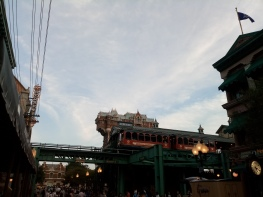 Disney Sea Electric Railway view in the American Waterfront