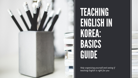 Teaching English in Korea: StartHere