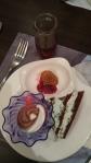 ice cream, mint oreo icebox cake, madeleine
